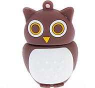 16GB Soft Rubber Night Owl USB Flash Drive