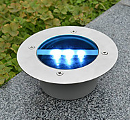Solar Power Dock runde vertiefte Pathway Garten LED-Licht (Cis-57154)