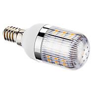 Bombillas LED de Mazorca T E14 3W 48 SMD 3528 220 LM Blanco Cálido AC 100-240 V