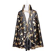Black $ Manto de ouro para o Dia das Bruxas (Small)