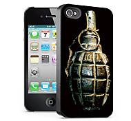 modello bomba caso effetto 3d per iphone4/4s