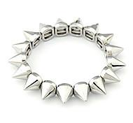 Européens et américains Populaire Street Style conique rivets bracelet en métal B13 de bracelet élastique