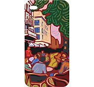 New Technology caldo di vendita 3D copertura della cassa del telefono cellulare colorato scultura per iphone4/4s 9