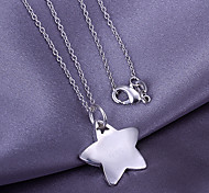 Silver Star Pendant  (Pendant Only)