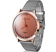 Women's Fashion Watch Quartz Imitation Diamond Band Sparkle Silver Brand