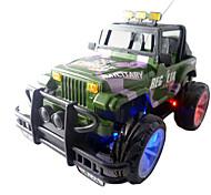 49 MHz Control remoto Go-Anywhere vehículo Coche del juguete (3 x AA + 2xAA)