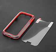 Fashion Design Zwei-Ton-Kunststoff und TPU Bumper Hülle für Samsung Galaxy S4 i9500/i9505