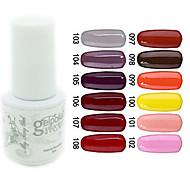 yemannvyou®sequins uv Farb GelNagellack no.97-108 (5 ml, farblich sortiert)