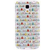 Singing Birds Pattern TPU Soft Case for Samsung Galaxy S4 Mini I9190