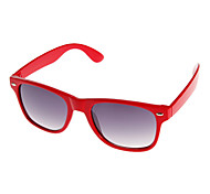 Women's Dark Gray Lens Red Frame Cat Eye Sunglasses