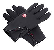 Protection contre le vent imperméable noir pleine Ski gants doigt