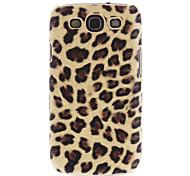 Leopard Phone Case arrière + Pack 3 gardes de miroir pour Samsung Galaxy S3 i9300