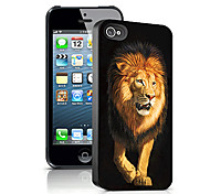 Lion Pattern 3D Effect Case for iPhone5