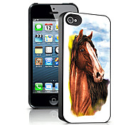 Horse Pattern 3D Effect Case for iPhone5