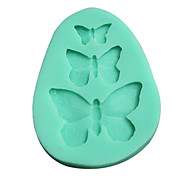 3D Silicone Mold Butterfly Shaped Mould(Random Color)