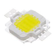 10W COB 820-900LM 6000-6500K White Light puce LED (9-12V)