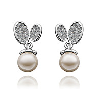 Pearl 18K fashion Earring for lady