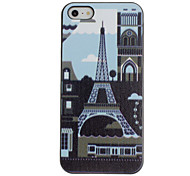 Urban's Life Pattern PC Hard Case with Black Frame for iPhone 5/5S