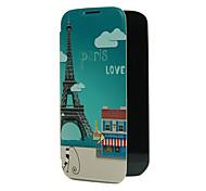 Parigi Torre Design Pattern Back Cover in plastica per Samsung S4
