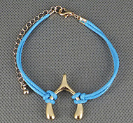 Golden note alloy bracelet