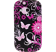 For Samsung Galaxy Case Pattern Case Back Cover Case Butterfly TPU Samsung S3 Mini