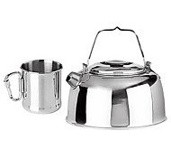 Stainless Steel Durable Kettle and Cup Set