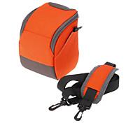 B-01-OR Orange Crossbody One-Shoulder Camera Bag for DSLR Camera