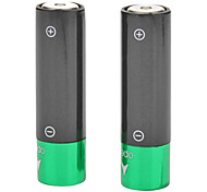 2 Pcs USB Rechargeable AA Battery for MP3 CD Toy Shaver