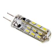 G4 2W 24 SMD 3014 LM Koel wit T LED-maïslampen DC 12 V
