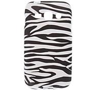 Zebra-Banda del modello TPU Back Cover per Samsung Galaxy Ace S7272 3