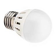 5W E26/E27 Lampadine globo LED 10 SMD 5730 420 lm Bianco caldo AC 220-240 V