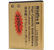 G13-GD 2450mah Cell Phone Battery for HTC HD3 HD7 G13 T9292 T9295 A510c A510e A310e