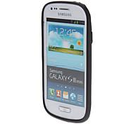 Trasparent Bumper Cover für Samsung Galaxy S3 I8190 Mini