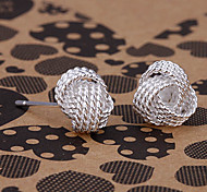 silver earring fashion jewelry Hoop Earrings13