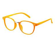Women's Plastic Cat Eye Frame Eyeglasses(Assorted Colors)