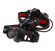 3-Mode Cree XP-E Q5 LED Zoom Headlamp (240LM, 3xAAA, Black)