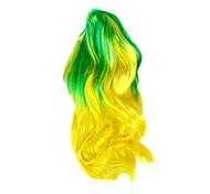 The Brazilian World Cup fans wig