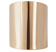 -Gold-Tone Gespiegelte Big Ring