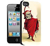 Skull Pattern 3D Effect Case for iPhone5