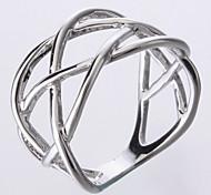 Simples anel de metal