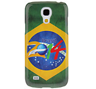 Brazil 2014 World Cup Pattern Protective Hard Back Cover Case for Samsung Galaxy S4 Mini I9190