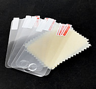 5-Piece Packed Protective Clear Screen Protector with Cleaning Cloth for iPod touch 4