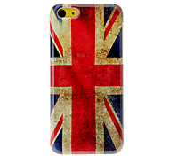 Vintage The Union Jack Pattern Hard Case for iPhone 5C