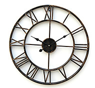 """20"""" Country Style Metal Wall Clock"""