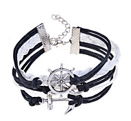 Men's/Unisex/Women's Fashion Bracelet Leather