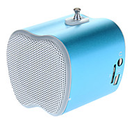 Portable Mini Speaker met FM-radio / TF Card Slot (Blauw)
