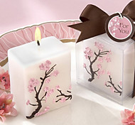 Cherry Blossom Mini-Pilar Vela