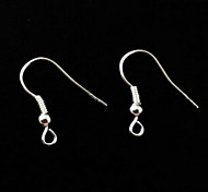 Fashion Silver-Plated Clasps Earrings