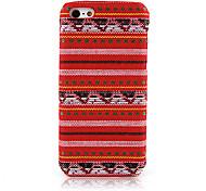 Travers Textile Cloth Art Back Case for iPhone 5C