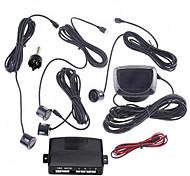 Inverse de voiture de kit de radar de sauvegarde de l'écran LCD avec 4 capteurs